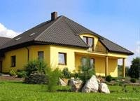 Blachy Pruszyński Blachodachówka KRON Dom Jednorodzinny w Staszowie